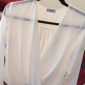 S/M white Tobi blouse